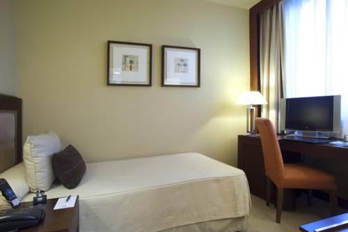 Habitación individual  del hotel Nuevo Madrid