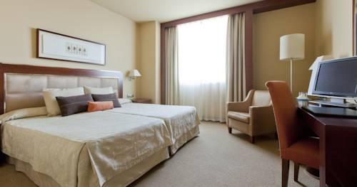 Habitación triple  del hotel Nuevo Madrid