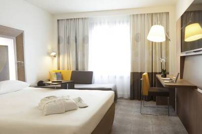 Habitación doble Superior del hotel Novotel Les Halles