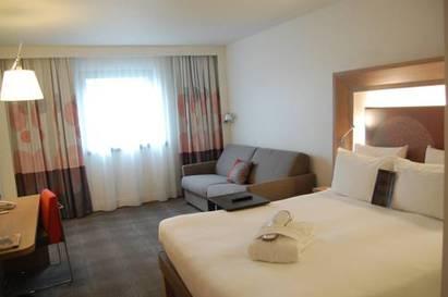 Habitación doble Ejecutiva del hotel Novotel Les Halles
