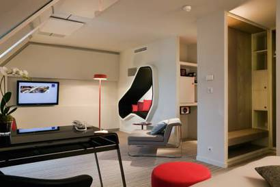 Junior suite  del hotel Novotel Les Halles. Foto 2