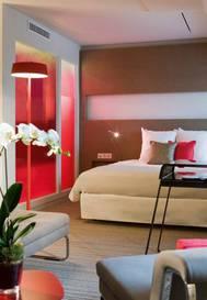 Junior suite  del hotel Novotel Les Halles. Foto 3