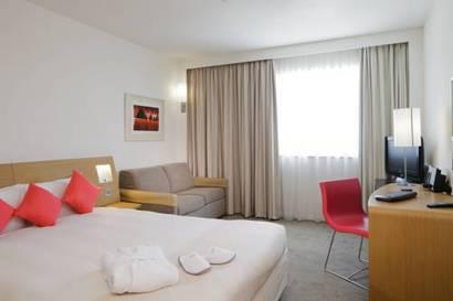 Habitación doble  del hotel Novotel Les Halles