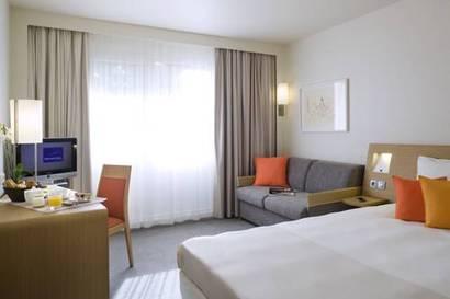 Habitación doble  del hotel Novotel Les Halles. Foto 3