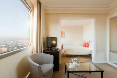 Junior Suite del hotel Novotel Paris Tour Eiffel