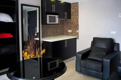 Habitación doble Con Cocina del hotel Mirador de Chamartin