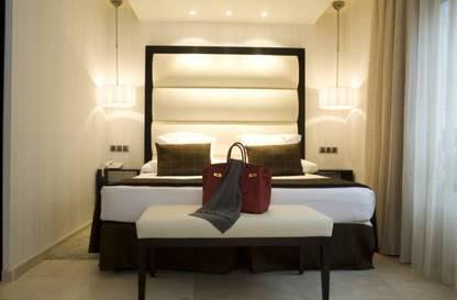 Habitación doble  del hotel Mirador de Chamartin