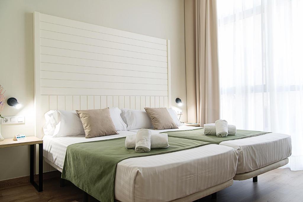 Habitación doble Interior Económica del hotel Checkin Valencia