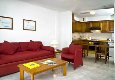 Apartamento 2 dormitorios  del hotel Blue Sea Callao Garden