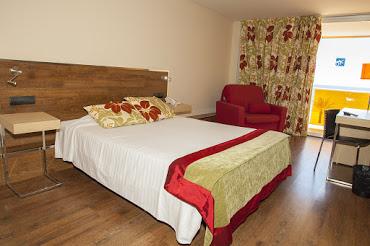 Habitación doble  del hotel Nubahotel Comarruga