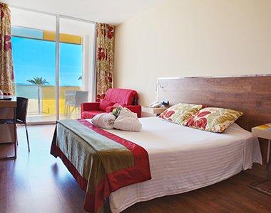 Habitación doble Vista Mar del hotel Nubahotel Comarruga