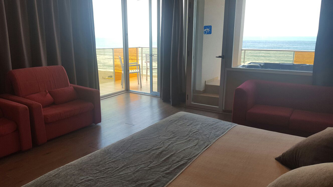 Suite  del hotel Nubahotel Comarruga