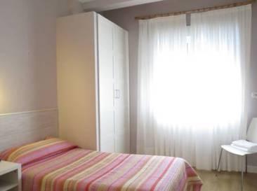 Habitación individual Baño compartido del hotel Pensión Don Claudio