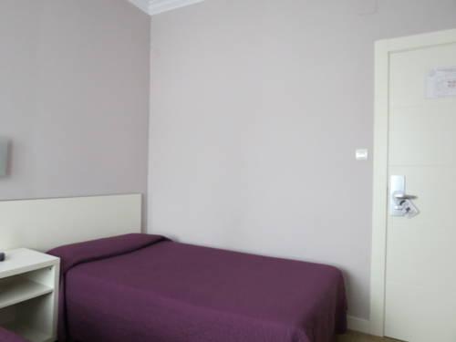 Habitación individual  del hotel Pensión Don Claudio