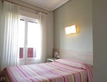 Habitación doble  del hotel Pensión Don Claudio
