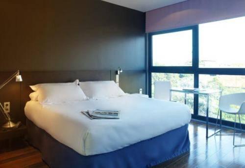 Habitación doble  del hotel Eurostars Angli. Foto 2