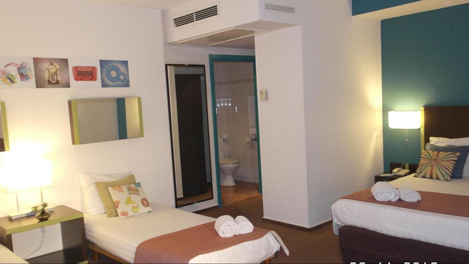 Superior Quadruple Room del hotel Floris Arlequin Grand Place