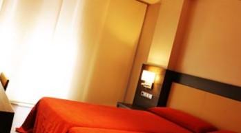 Habitación individual  del hotel Hyltor