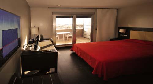 Habitación doble Terraza del hotel Hyltor