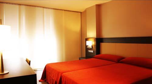 Habitación doble  del hotel Hyltor
