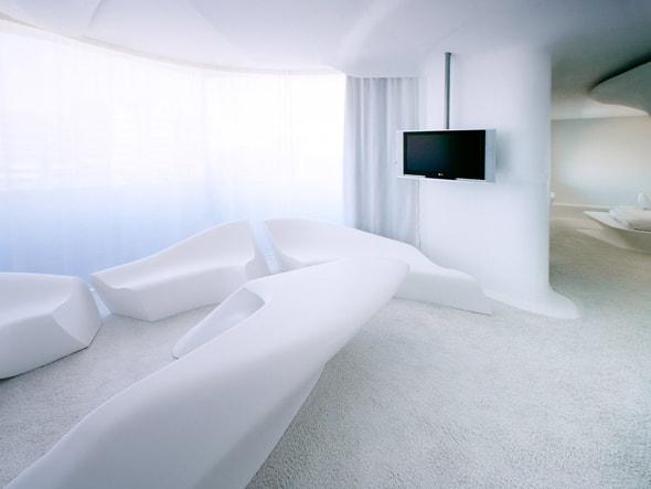 Junior Suite Space Club by Zaha Hadid del hotel Puerta America