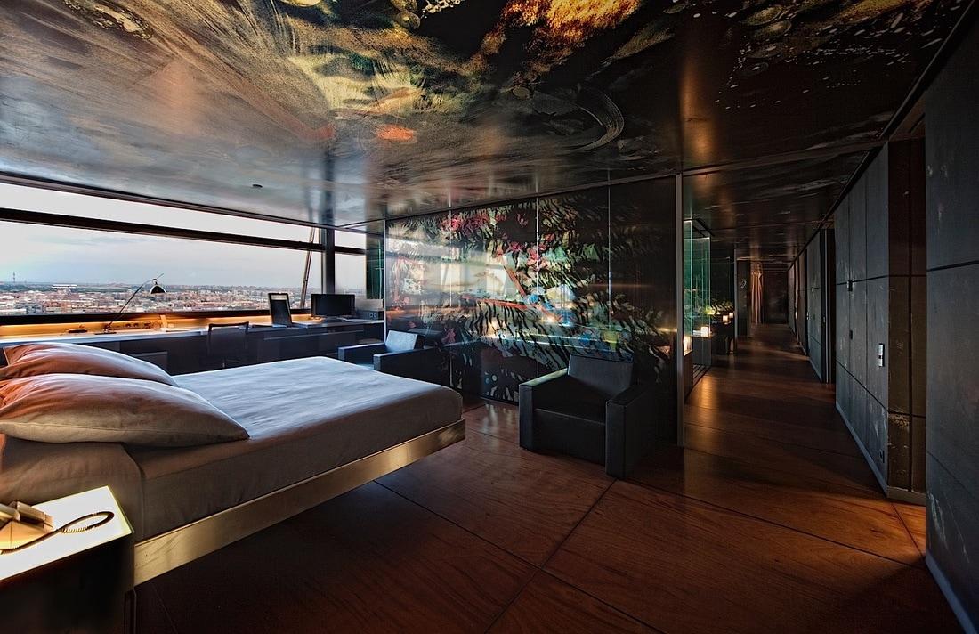 Suite Senior by Jean Nouvel del hotel Puerta America