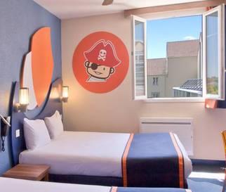 Habitación doble  del hotel Explorers at Disneyland París