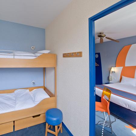 Habitación Familiar hasta 6 personas del hotel Explorers at Disneyland París