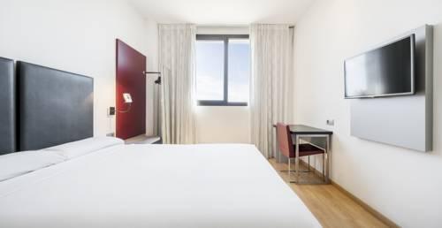 Habitación doble  del hotel Ilunion Aqua 3