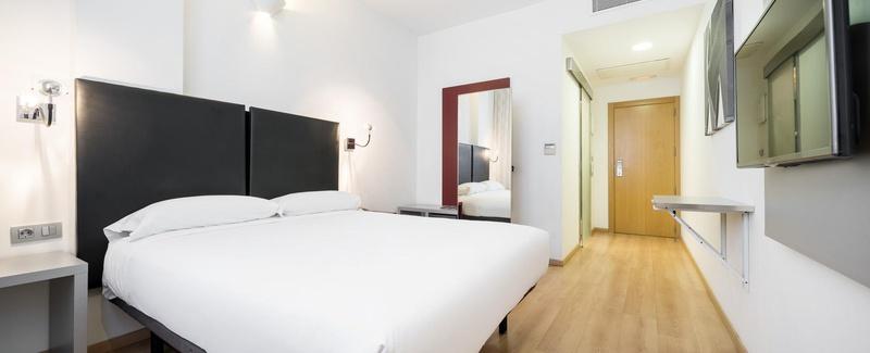 Habitación doble Accesible del hotel Ilunion Aqua 3. Foto 2