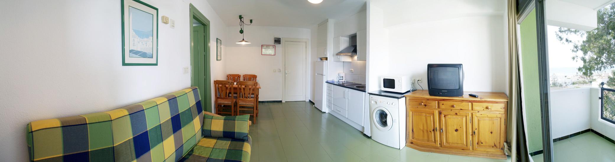 Apartamento 1 dormitorio  del hotel Destinos de Sol La Minería Roquetas de Mar
