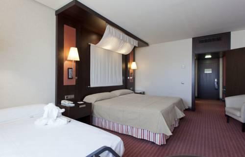 Habitación doble dos camas separadas del hotel Cordoba Center