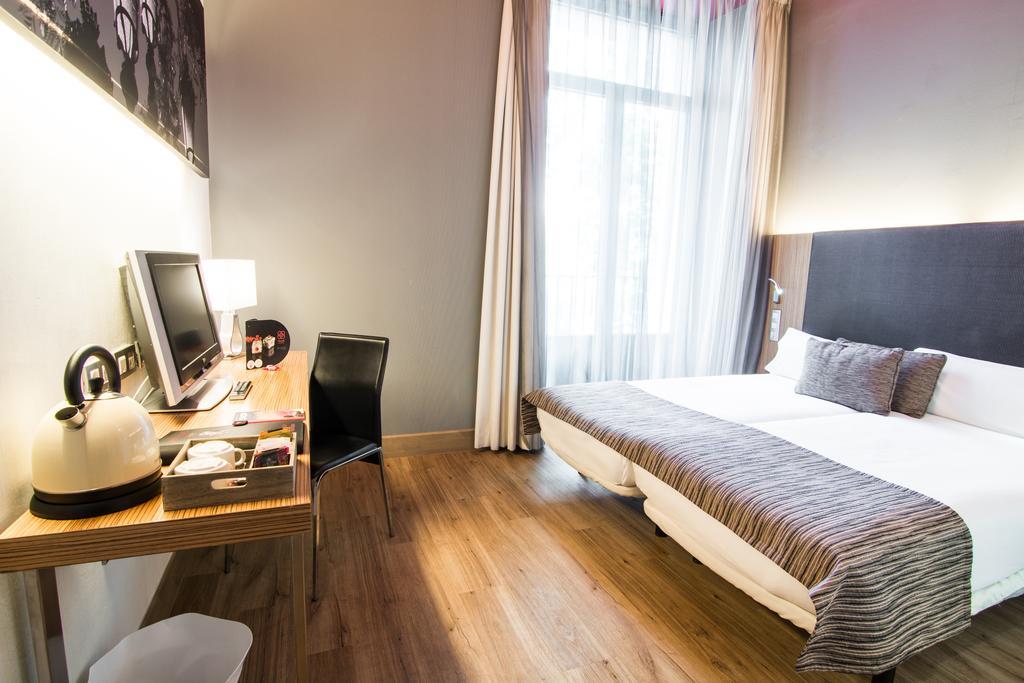 Habitación doble  del hotel Petit Palace Plaza del Carmen