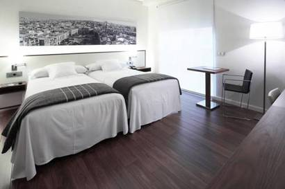 Habitación familiar  del hotel Primus Valencia