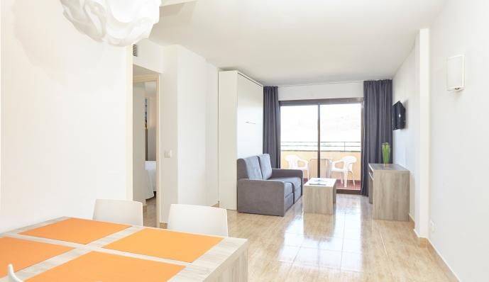 Apto. 2 dormitorios ( 2 dormitorios dobles) del hotel Mar i Vent