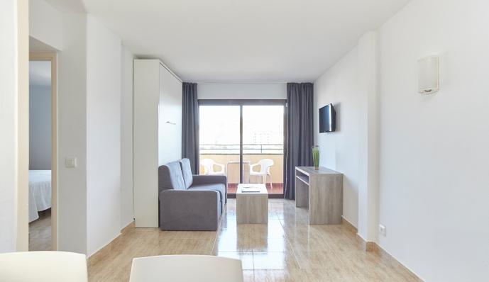 Apto. 2 dormitorios ( 2 dormitorios dobles) del hotel Mar i Vent. Foto 1