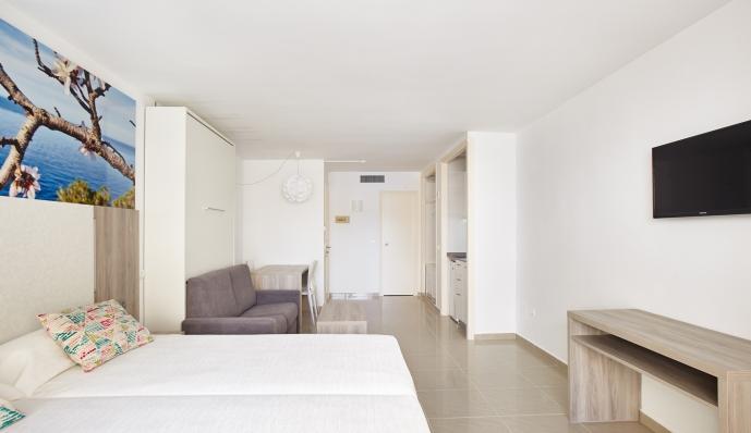 Estudio  del hotel Mar i Vent. Foto 2