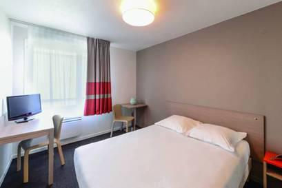 Estudio  del hotel Appart City Paris La Villette