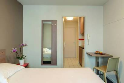 Estudio Superior del hotel Appart City Paris La Villette. Foto 1