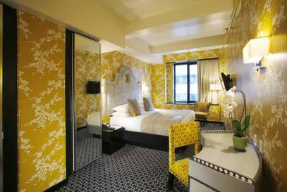 Habitación doble Ejecutiva del hotel Room Mate Grace