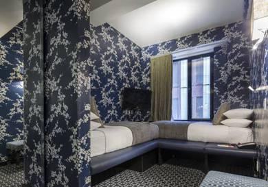 Habitación doble dos camas separadas del hotel Room Mate Grace