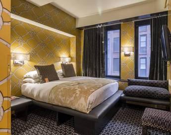 Habitación doble Cama King del hotel Room Mate Grace