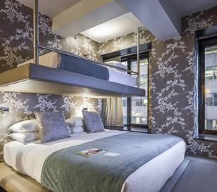 Habitación triple  del hotel Room Mate Grace. Foto 3