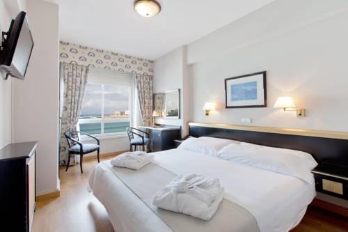 Habitación doble Vista Mar del hotel RIAZOR