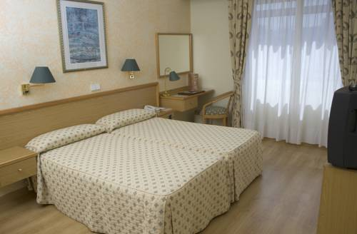 Habitación doble Interior del hotel RIAZOR