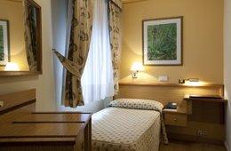 Habitación individual  del hotel RIAZOR