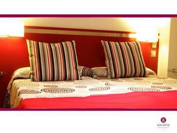 Habitación familiar  del hotel Ascarza Badajoz