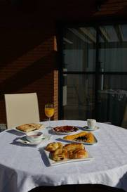 Habitación doble Terraza Superior del hotel Ascarza Badajoz. Foto 3
