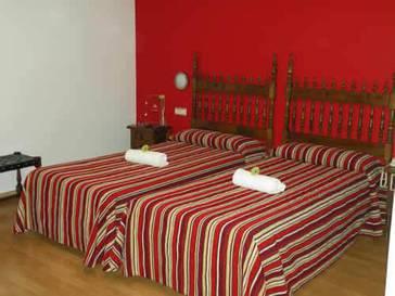 Habitación doble Económica del hotel Rey Don Sancho
