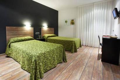 Habitación doble dos camas separadas del hotel Rey Don Sancho